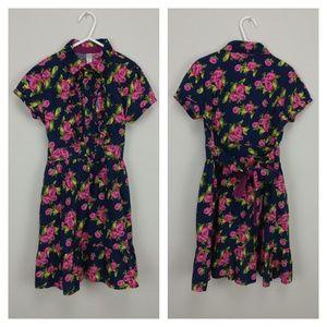 Floral girls Cherokee dress